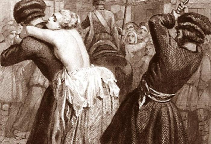 Сексуальные наказания и пытки древности