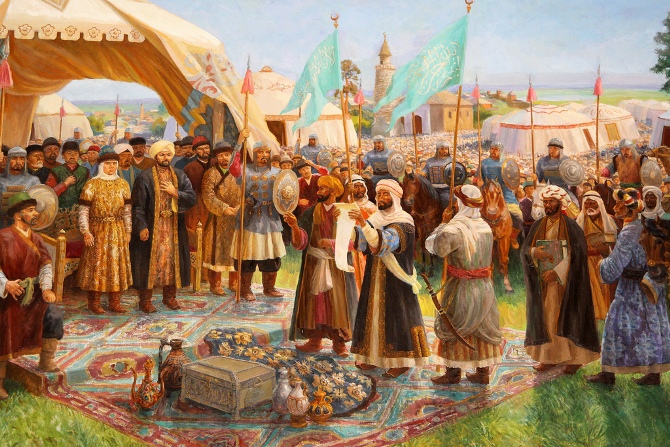 какую территорию занимал хазарский каганат