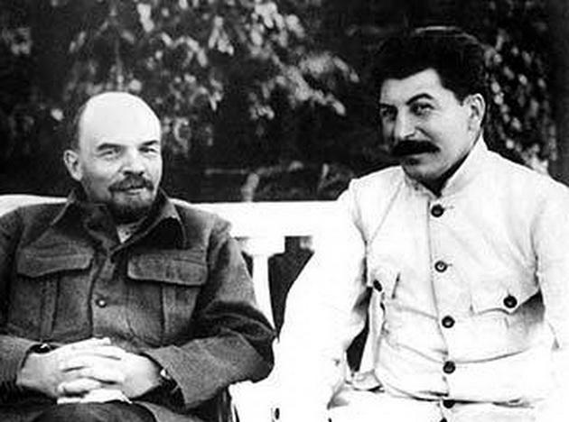 как ленин и сталин познакомились