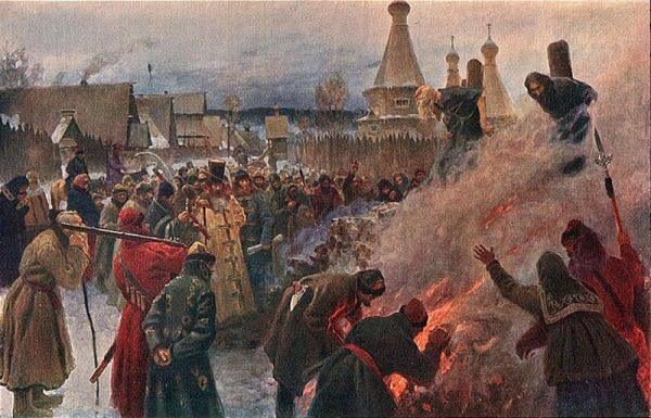 Как на Руси наказывали за измену православной религии