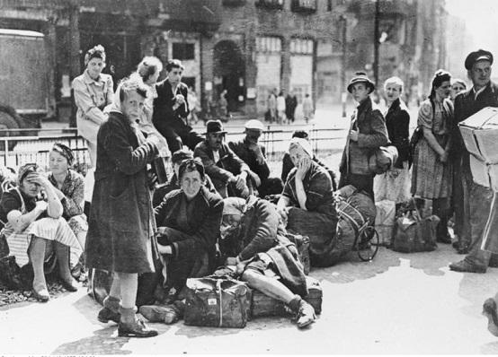 Как депортировали немцев из Европы после Второй мировой   Русская семерка