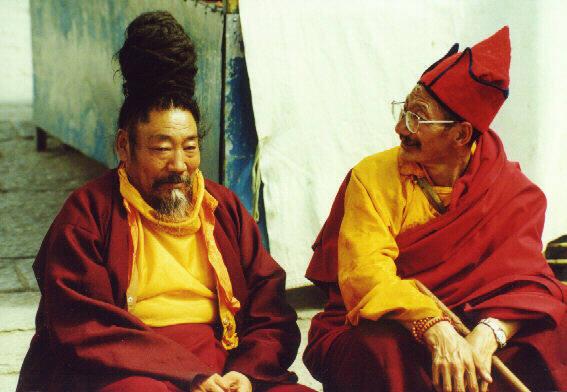 Секс у тибетских монахов