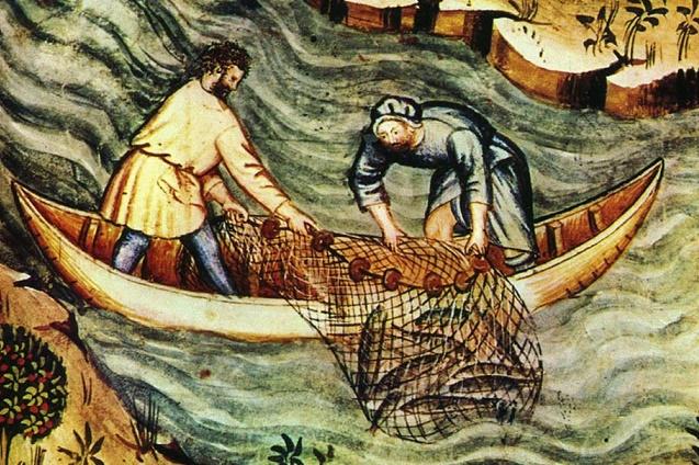 Когда человек научился ловить рыбу