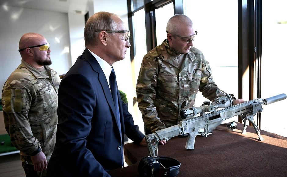 СВЧ-308: из какой винтовки стрелял президент