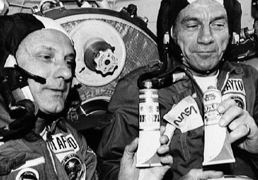 Чем питаются космонавты в космосе