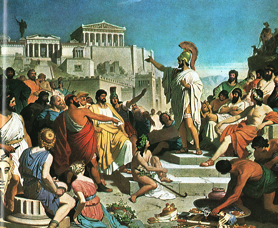 что картинки из жизни древней греции выглядит эстетично
