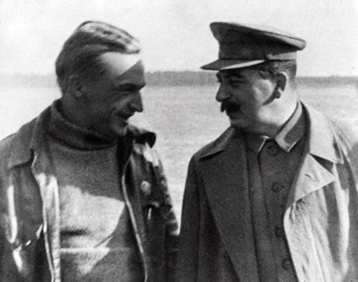 чкалов сталин отношения