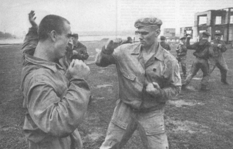 Каким боевым приёмам учили в КГБ