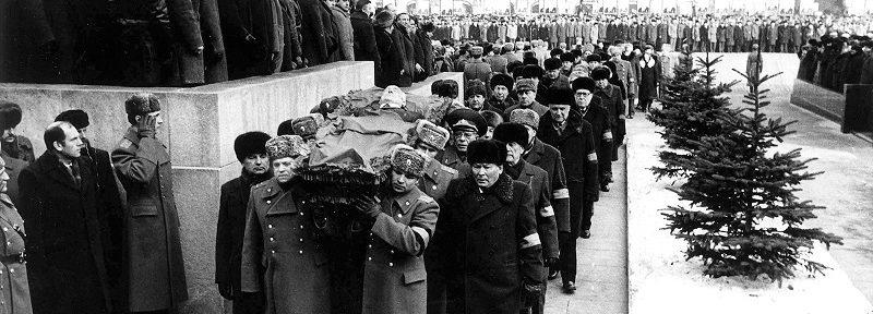 Похороны Андропова: что на них было странного