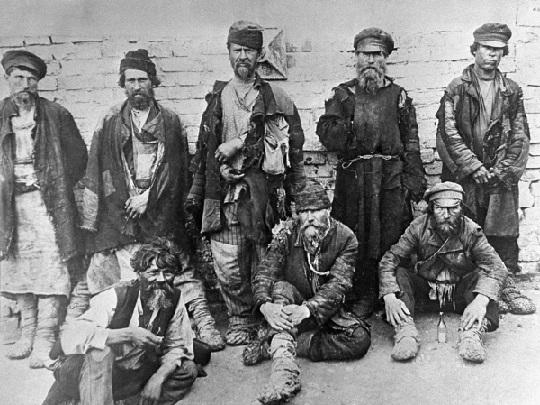 Волжские босяки: главные секреты низшей касты в царской России